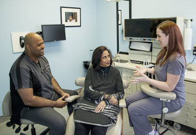 Helping nervous patients get comfortable about the coming dental procedure