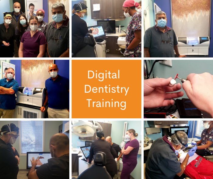 Digital dentistry training